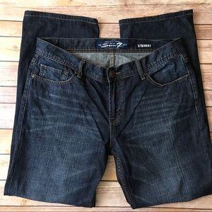 Seven7 Straight Leg Jeans Plus Size 34x32 🌷